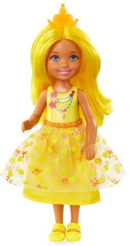 Barbie Кукла Челси Принцесса цвет желтый