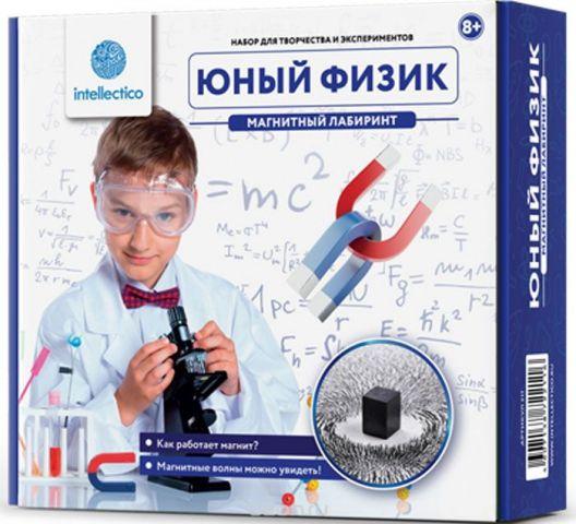 Intellectico Набор для опытов и экспериментов Магнитный лабиринт