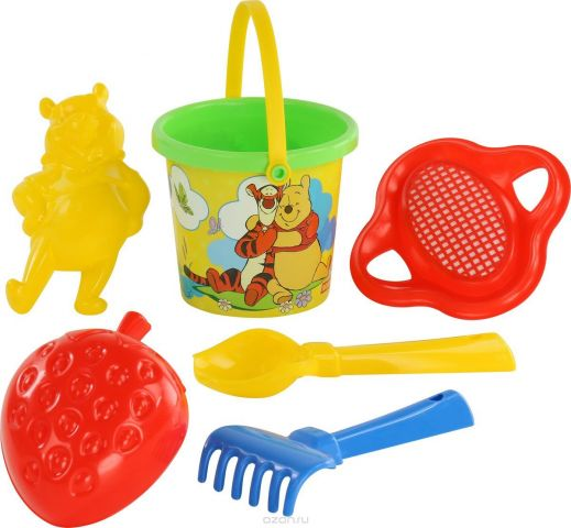 Disney Набор игрушек для песочницы Винни и его друзья №3