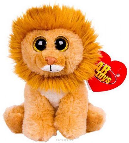 ABtoys Мягкая игрушка Львенок 15 см