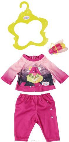Zapf Creation Одежда для куклы BABY born Удобный костюмчик и светлячок-ночник