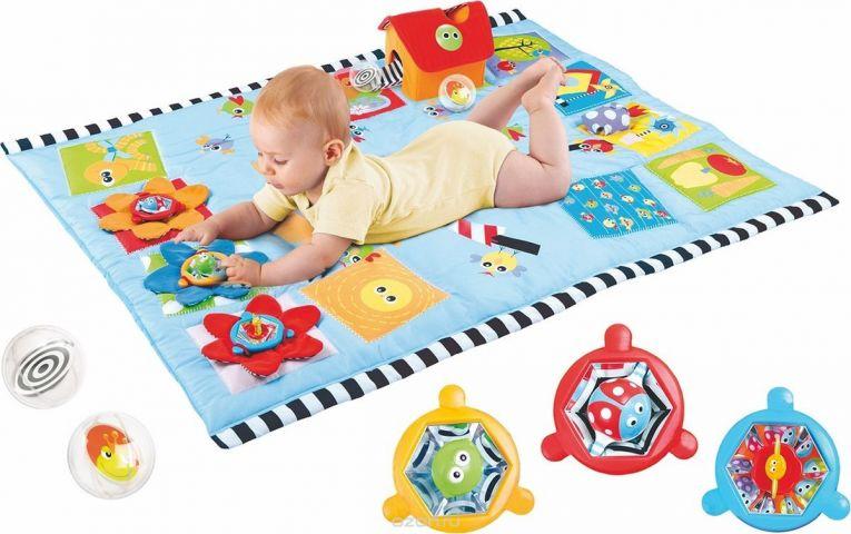 Yookidoo Развивающий коврик прямоугольный без дуг