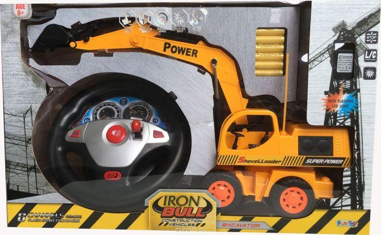 Fun Toy Экскаватор на радиоуправлении 44427