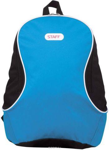 Staff Рюкзак Флэш цвет голубой черный