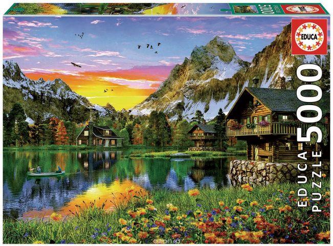 Educa Пазл Альпийское озеро