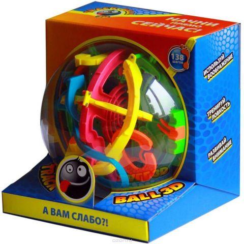 Track Ball 3D Игрушка-головоломка 138 ходов 19 см