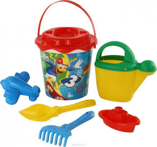 Disney Набор игрушек для песочницы Микки и Веселые гонки №12