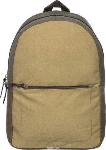 №1 School Рюкзак молодежный цвет хаки