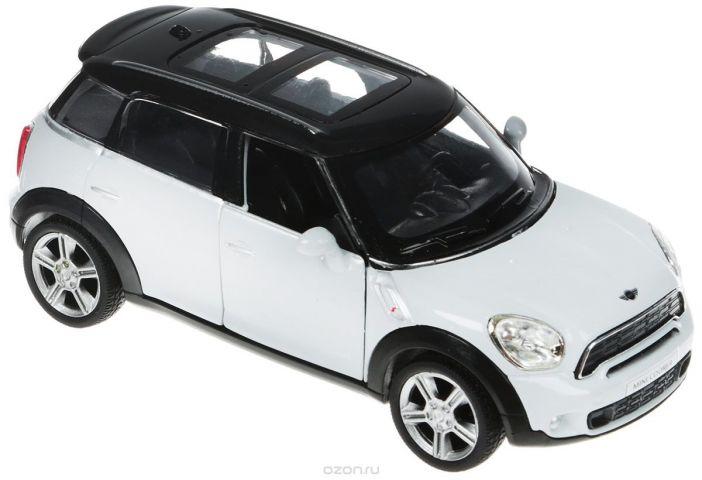 Рыжий Кот Модель автомобиля Mini Cooper цвет белый