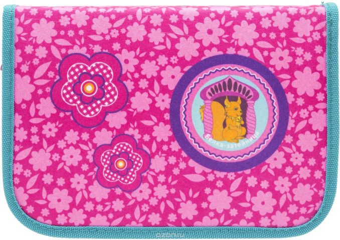 Tiger Family Пенал Nature Quest Collection цвет розовый 00-00044706