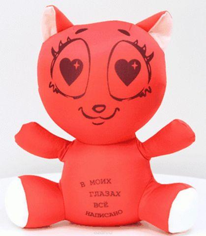 Штучки, к которым тянутся ручки Антистрессовая игрушка Влюбленная кошка цвет розовый