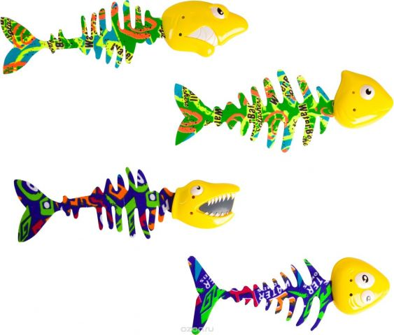 Bondibon Игрушка для ванной Играем в воде Рыбки 4 шт