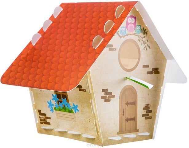 Bondibon Сборная деревянная модель Творчество с Буки Скворечник