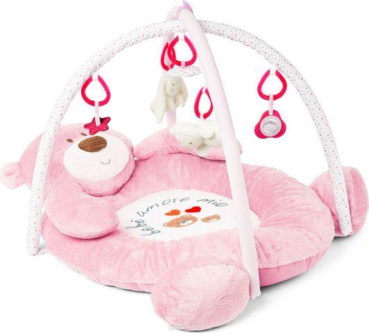 Felice Развивающий коврик Медвежонок цвет розовый 100 х 80 см