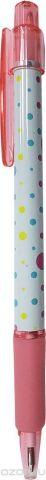 Expert Complete Ручка шариковая автомат с дизайном Lifestyles Полька цвет чернил синий 013547