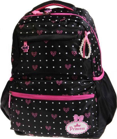 Vittorio Richi Рюкзак детский с наполнением цвет черный розовый K05R5516