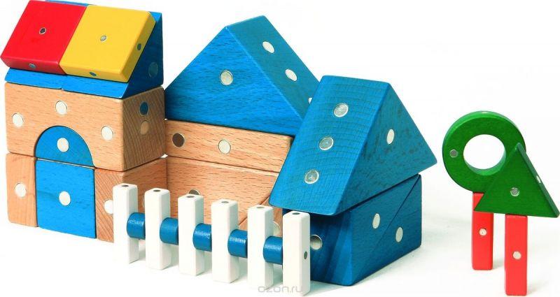 Genii Creation Конструктор деревянный Дом