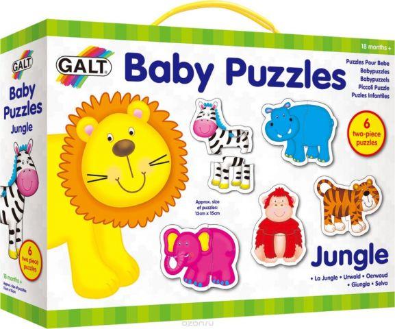 Galt Пазл для малышей Джунгли 1003031