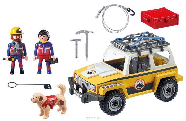 Playmobil Игровой набор Горноспасательная Грузовик горноспасателей