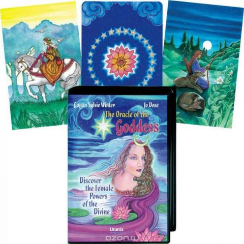 Карты Таро AGMuller Oracle Cards The Oracle Of The Goddess