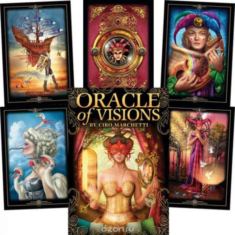 Карты Таро U.S. Games Systems Oracle of Visions by C.Marchetti