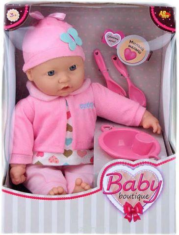 Кукла Dimian Baby Boutique, с аксессуарами, 40 см. PT-00958