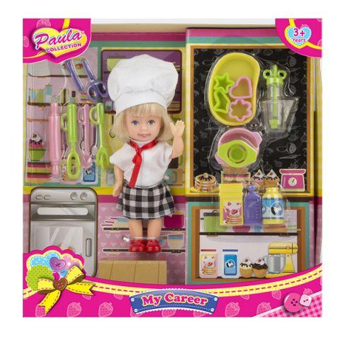 """Paula MC23048d Игровой набор """"Я - профессионал"""" повар"""