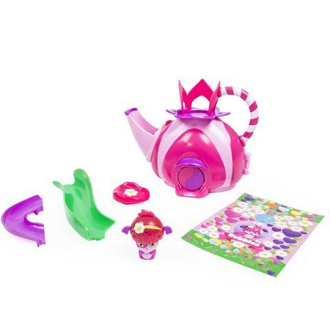 """Popples 56306 Малыши-прыгуши Игровой набор """"Чайный домик"""""""