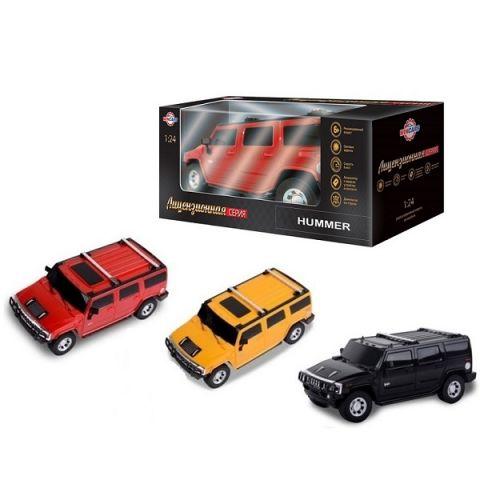 Wincars DS-2016 Hummer (лицензия), Р/У, масштаб 1:24, ЗУ в комплекте