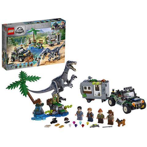 LEGO Jurassic World 75935 Конструктор ЛЕГО Поединок с бариониксом: охота за сокровищами