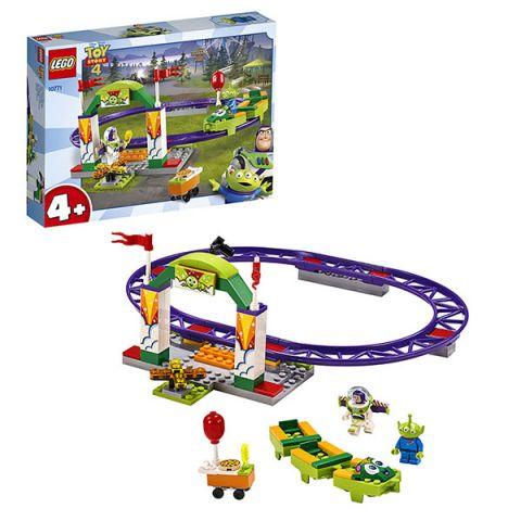 LEGO Juniors 10771 Конструктор ЛЕГО Джуниорс История игрушек-4: Аттракцион Паровозик