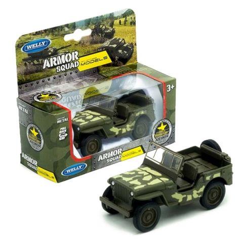 Welly 43723CM Велли Модель военного автомобиля