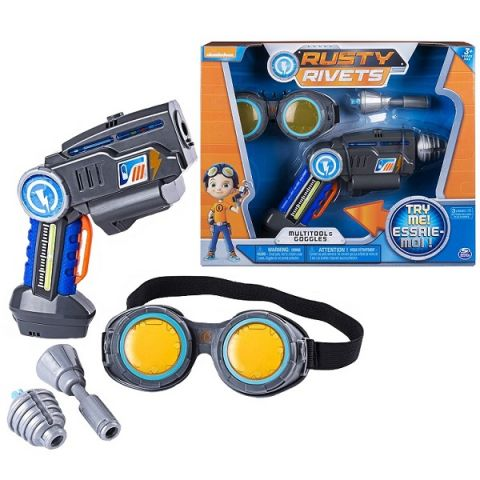 Rusty Rivets 28109 Супер инструмент и очки Расти
