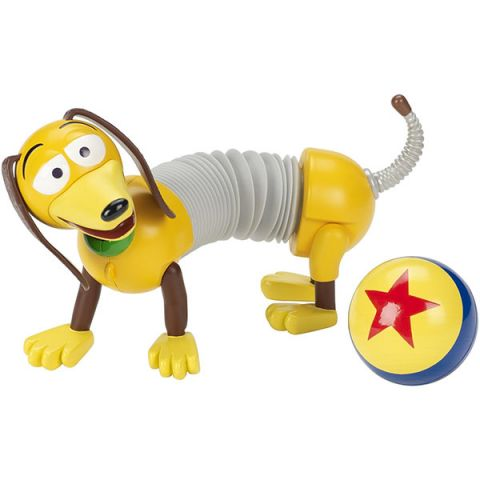 Mattel Toy Story FRX09 История игрушек-4, классические персонажи SLINKY