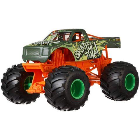 Mattel Hot Wheels GCX22 Хот Вилс Монстр трак 1:24 SPLATTER TIME