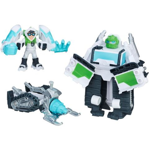 "Hasbro Playskool Heroes C0212/C0333 Трансформеры Спасатели Набор спасателей ""Команда Боулдера"""