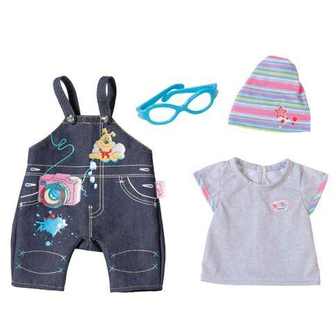 Zapf Creation Baby born 822-210 Бэби Борн Одежда Джинсовая (в ассортименте)