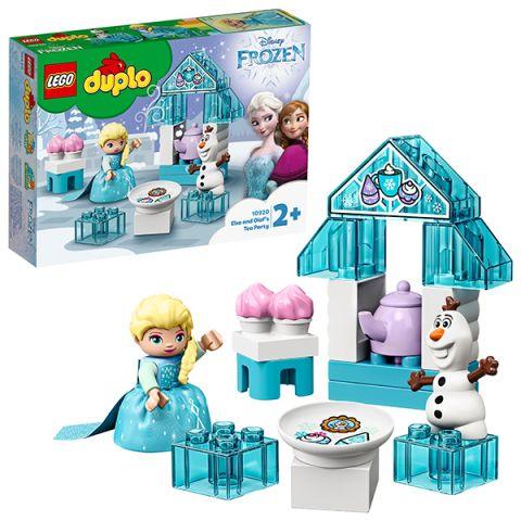 LEGO DUPLO 10920 Конструктор ЛЕГО ДУПЛО Дисней Чаепитие у Эльзы и Олафа