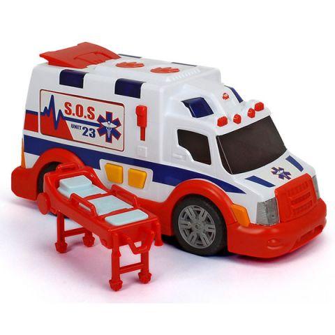 Simba 3308360 Машина скорой помощи (звук, свет, свободный ход)