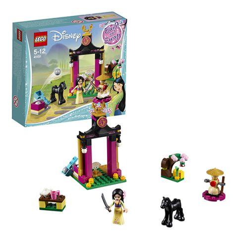 LEGO Disney Princess 41151 Конструктор ЛЕГО Принцессы Дисней Учебный день Мулан